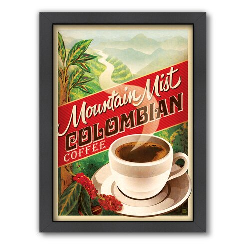 Americanflat Colombian Coffee by Anderson Design Group Framed ...