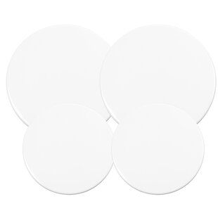 Burner Covers Solid Cream Color