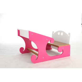 Sleigh 235 W Writing Desk by Happy Child Furniture