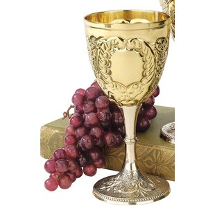 The King's Royal 8 oz. Brass Goblet