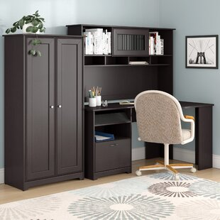 Find Hillsdale 3-Piece L-Shape Desk Office Suite By Red Barrel Studio