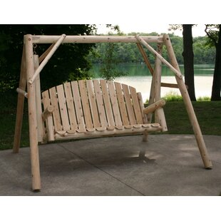 Cinnabar Garden Porch Swing with Stand