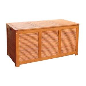 Outdoor Eucalyptus Deck Box