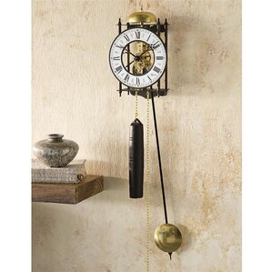 hermle iron skeleton wall clock