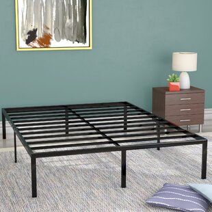 Good Classic Metal Platform Bed Frame
