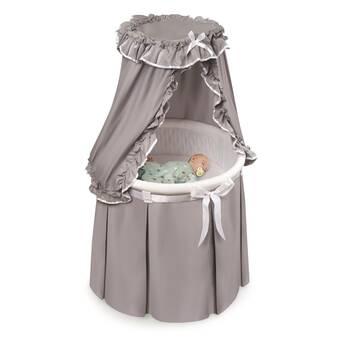 Badger Basket Empress Round Baby Bassinet Reviews Wayfair