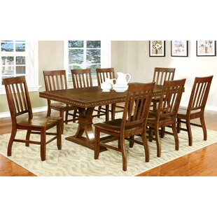 Jared 9 Piece Dining Set Hokku Designs
