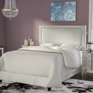 Hayley Upholstered Panel Bed by Everly Quinn