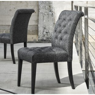 Coupon Devereaux Upholstered Dining Chair (Set of 2) by Darby Home Co Reviews (2019) & Buyer's Guide