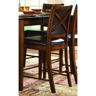 Leos Bar Stool (Set of 2) Red Barrel Studio
