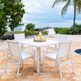Mykonos 5 Piece Dining Set
