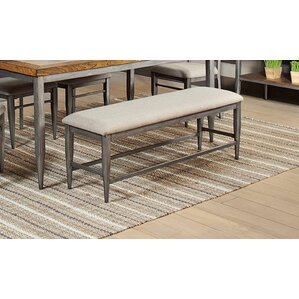 Buxton Upholstered Bench by Gracie Oaks