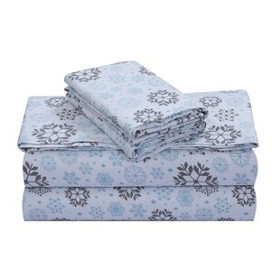 Kenya 100% Cotton Flannel Sheet Set ByMillwood Pines