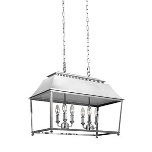 Darwin 6-Light Billiard Light