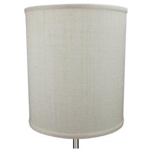 Extra large drum shade wayfair 12 burlap drum lamp shade aloadofball Choice Image