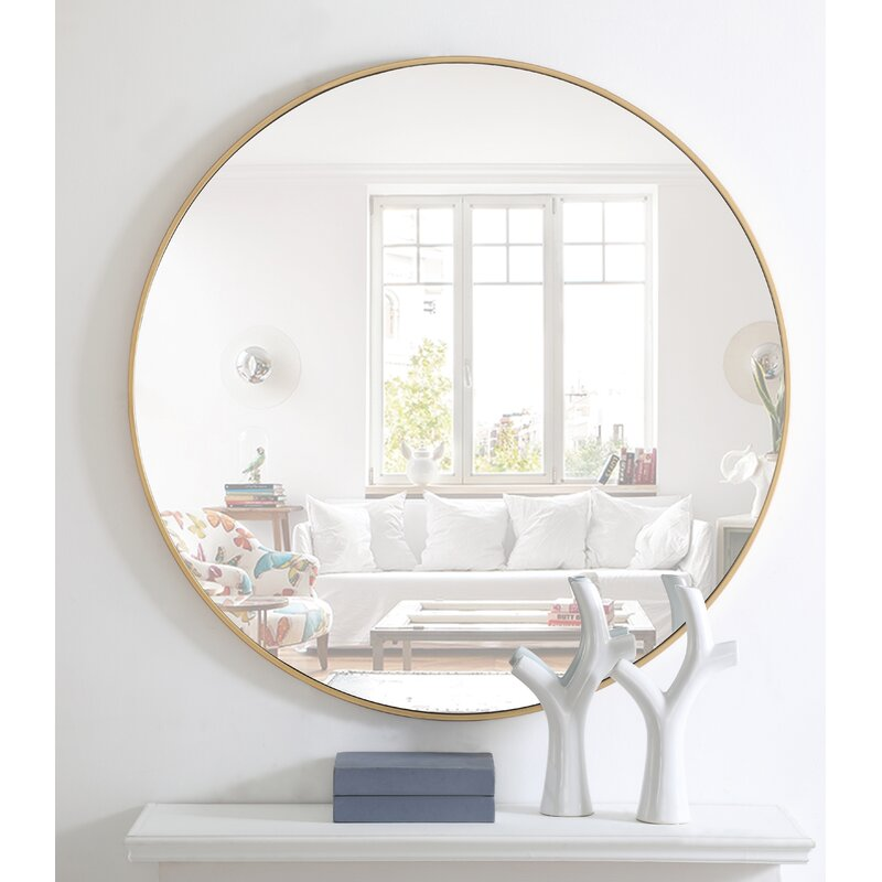 Joss & Main Essentials Wall Mounted Mirror