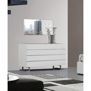 Febus 4 Drawer Bedroom Dresser