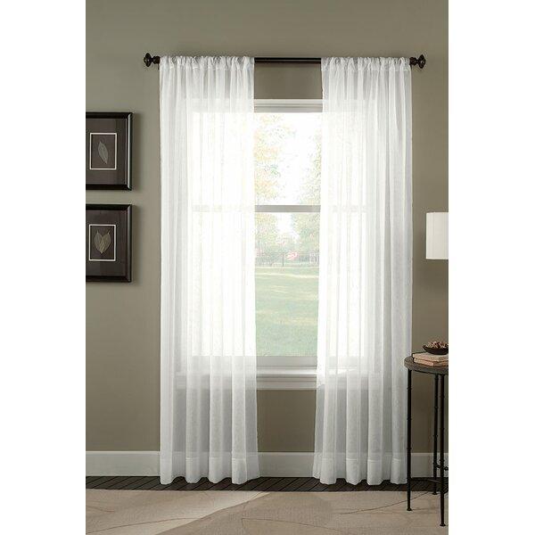 Crinkle Voile Curtains Wayfair