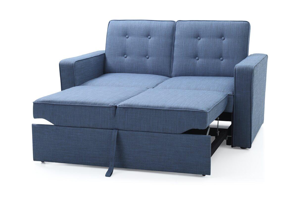 hazelwood home atlas 2 seater sofa bed reviews wayfair. Black Bedroom Furniture Sets. Home Design Ideas