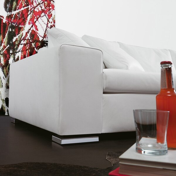 Terrific Rogers Leather Reversible Sectional Machost Co Dining Chair Design Ideas Machostcouk