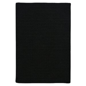 Glasgow Black Indoor/Outdoor Area Rug
