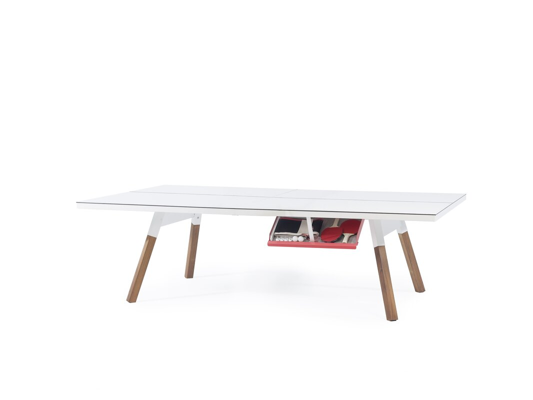 ... Regulation Ping Pong Table Size By You And Me Ping Pong Table U0026  Reviews Allmodern ...