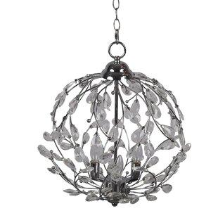 Meister 3-Light Globe Chandelier