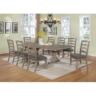 Stevan 9 Piece Extendable Dining Set Canora Grey