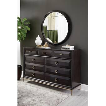 Woodbridgefurniture Linwood 7 Drawer Standard Dresser Wayfair