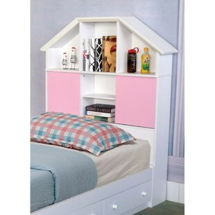 Comparison Anette Twin Bookcase Headboard by Zoomie Kids