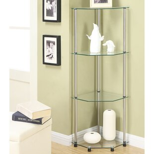 Beckett Corner Bookcase by Ebern Designs Best #1