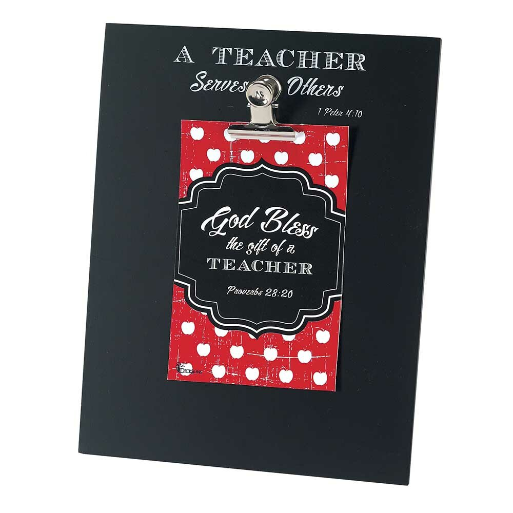 Dicksons Faith Polka Dots and Patterns Wooden MDF 4 x 6 Photo Frame