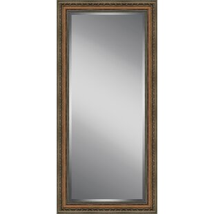 Ashton Wall Decor LLC Wooden Beveled Plate Full Length Mirror