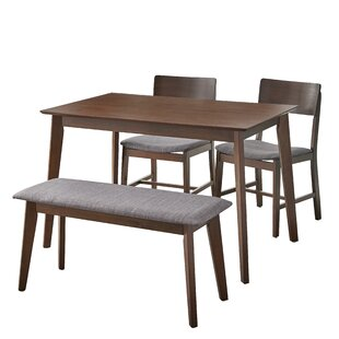 Fortunata 4 Piece Dining Set