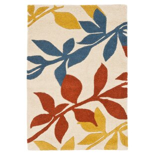 Compare & Buy Lockwood Light Beige / Multi Contemporary Rug By Ebern Designs
