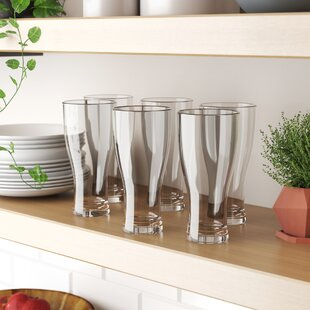 Labrenz 19 oz. Acrylic Pilsner Glass (Set of 6)