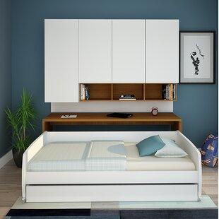 Rincon Compact FullDouble Murphy Bed by Brayden Studio