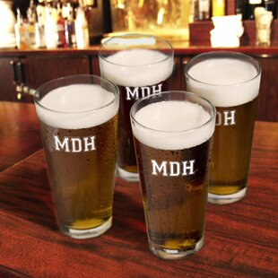Personalized Gift Pub Beer Glass (Set of 4)