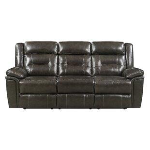 Marlink Leather Reclining Sofa