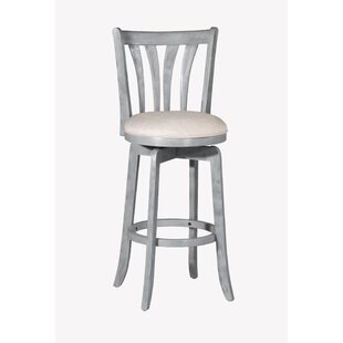 Marquita 26'' Swivel Bar Stool Highland Dunes