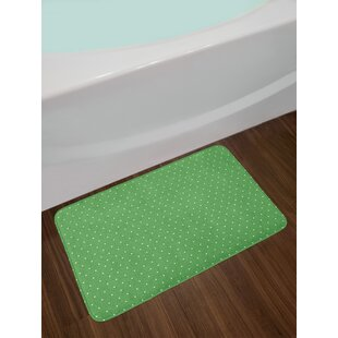 50s Green Bath Rug