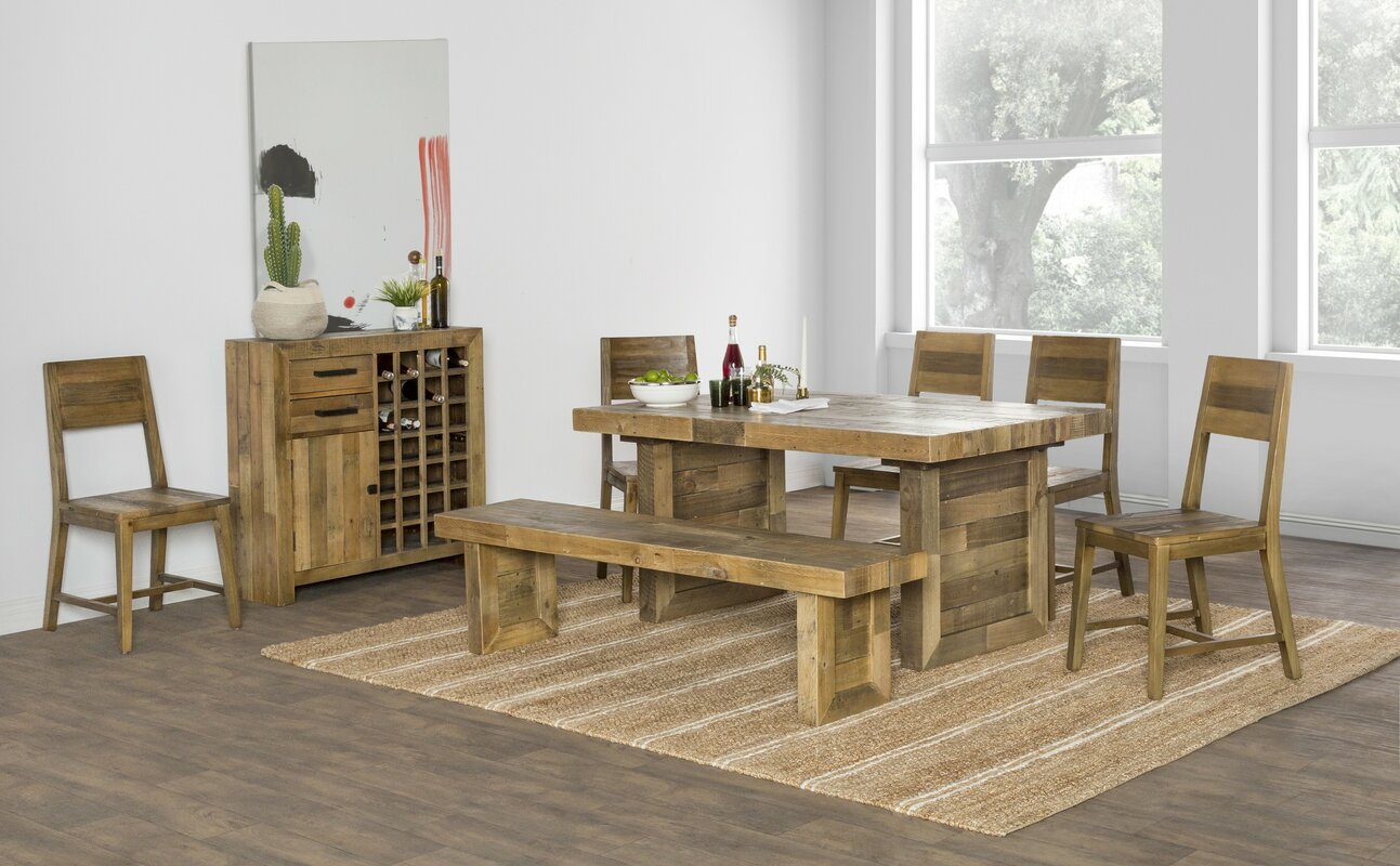 Needham Solid Wood Dining Chair & Reviews | AllModern