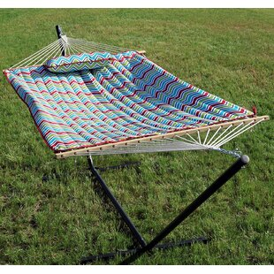 Ketter Polyester Quilted Hammock Pad and Pillow Set