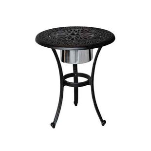 Kristy Side Table with Ice Bucket