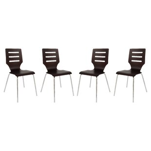 Celia Stacking Patio Dining Chair (Set of 4)