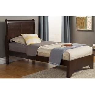 Where buy  Ferrero Twin Sleigh Bed by Three Posts Reviews (2019) & Buyer's Guide