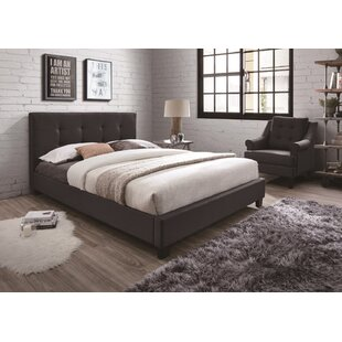 Compare prices Beckenham Upholstered Platform Bed by Wrought Studio Reviews (2019) & Buyer's Guide