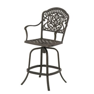 Merlyn Swivel Patio Bar Stool with Cushion