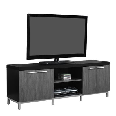 Brayden Studio Topsham TV Stand for TVs up to 60 Color: Black/Gray