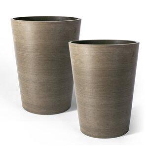 Valencia Composite Pot Planter (Set of 2)